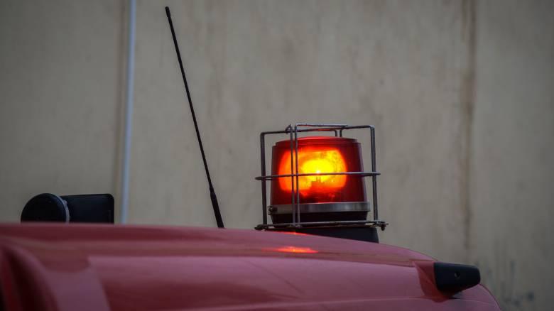 Φωτιά κοντά σε σπίτια στην Κνωσό
