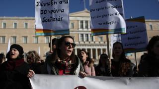 Αντιδρούν οι συνδικαλιστές με το νομοσχέδιο για τις διαδηλώσεις