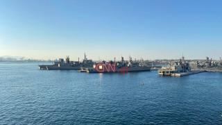 Πολεμικό Ναυτικό: Εντυπωσιακά πλάνα από τη ναυτική άσκηση στον Αργοσαρωνικό