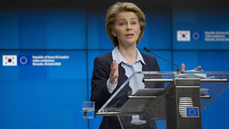 Φον ντερ Λάιεν: Προτεραιότητά μας είναι η συμφωνία για το σχέδιο ανάκαμψης