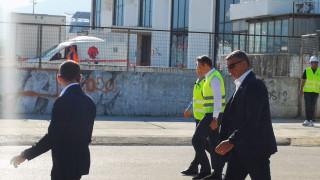 Ο Κυριάκος Μητσοτάκης στην τελετή έναρξης των εργασιών στο Ελληνικό