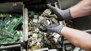 Σχεδόν 17 κιλά ηλεκτρονικά απόβλητα παράγει ετησίως ο μέσος Έλληνας