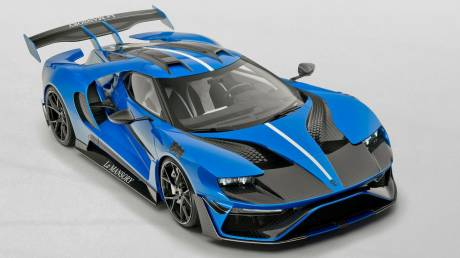 Αυτοκίνητο: H Mansory όχι μόνο μετέτρεψε το Ford GT αλλά το ονόμασε και Le Mansory