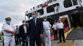 Πλακιωτάκης στο CNN Greece: Περαιτέρω στήριξη των ακτοπλοϊκών και των εργαζόμενων
