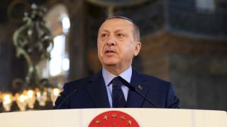 Ερντογάν: Οι επικρίσεις για την Αγία Σοφία επίθεση στα κυριαρχικά μας δικαιώματα