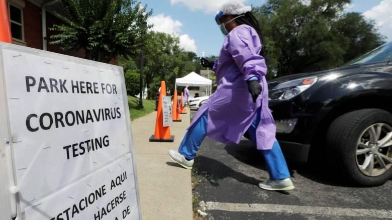 Κορωνοϊός: Νέο θλιβερό ρεκόρ κρουσμάτων στις ΗΠΑ το τελευταίο 24ωρο