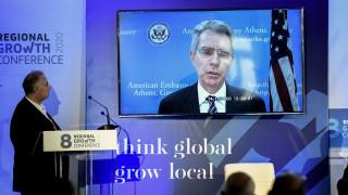 Τζέφρι Πάιατ: Συνεργαζόμαστε για να φέρουμε περισσότερες αμερικανικές επενδύσεις στην Ελλάδα