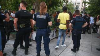 Επιχείρηση απομάκρυνσης προσφύγων από την πλατεία Βικτωρίας