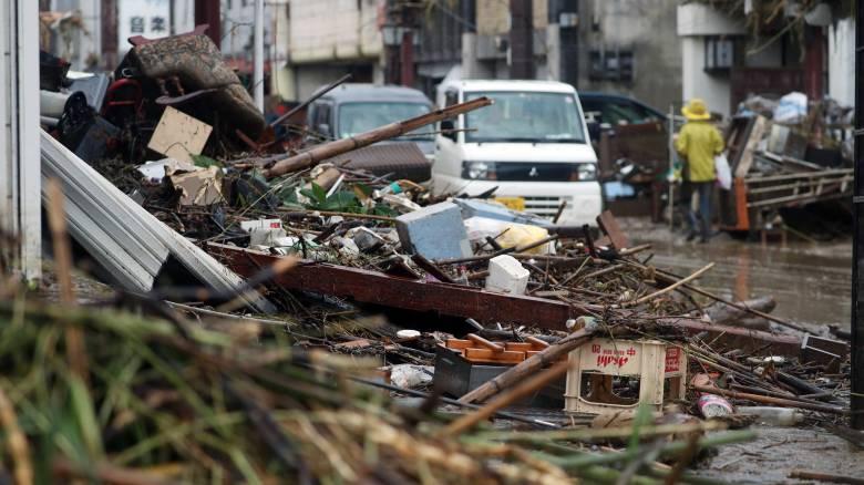 Ιαπωνία: Κατακόρυφη αύξηση στους νεκρούς ενώ συνεχίζονται οι φονικές πλημμύρες