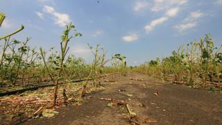 Συγκλονιστικές εικόνες από τις καταστροφές που προκάλεσε η κακοκαιρία στην Λάρισα
