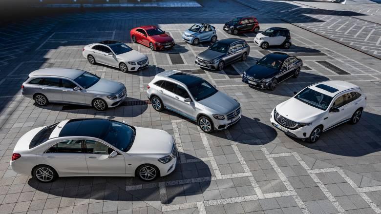 Tα ΕQ Power, τα plug-in υβριδικά μοντέλα της Mercedes, συνδυάζουν τα καλύτερα στοιχεία δύο κόσμων