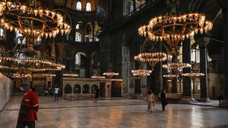 Κρεμλίνο για Αγία Σοφία: Ελπίζουμε πως θα ληφθεί υπόψη ότι είναι μνημείο παγκόσμιας κληρονομιάς