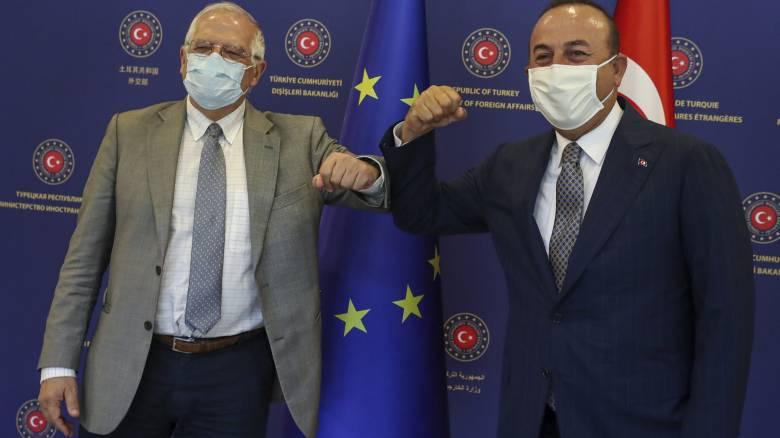 Θέμα διαπραγματεύσεων Ελλάδας-Τουρκίας έθεσε ο Μπορέλ στην Άγκυρα