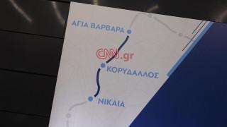 Εικόνες από το νέο σταθμό του μετρό στη Νίκαια