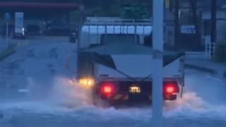 Ιαπωνία: Δεκάδες νεκροί και αγνοούμενοι από τις πλημμύρες που προκάλεσαν καταρρακτώδεις βροχές