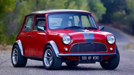 Αυτοκίνητο: Αυτό το κλασικό Mini έχει 500 ίππους και κοστίζει σχεδόν όσο μια Ferrari