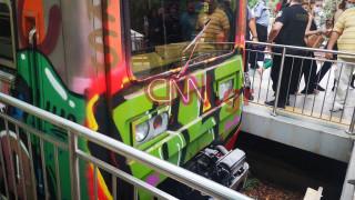 Ατύχημα με συρμό του ΗΣΑΠ στην Κηφισιά: Οι πρώτες εικόνες από το σημείο