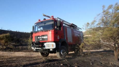 Φωτιά στην περιοχή Σκοπός στη Ζάκυνθο