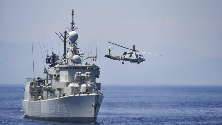 Έντονη παρουσία του τουρκικού Πολεμικού Ναυτικού κοντά σε Ρόδο και Κρήτη