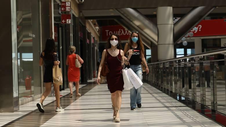 Κορωνοϊός: Καταργείται η μάσκα στα εμπορικά κέντρα και το όριο των έξι ατόμων ανά τραπέζι