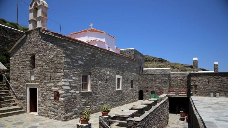 Αγία Ειρήνη Άνδρου: Μια μοναδική περίπτωση μοναστηριού-μουσείου