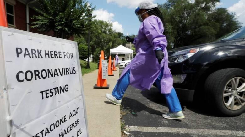 Κορωνοϊός: Συνεχίζεται η εκρηκτική αύξηση των κρουσμάτων στις ΗΠΑ - Πάνω από 60.000 σε ένα 24ωρο
