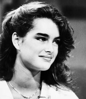 1981, Λος Άντζελες. Η ηθοποιός και μοντέλο Μπρουκ Σιλντς καλεσμένη στην τηλεοπτική εκπομπή του NBC «Today».