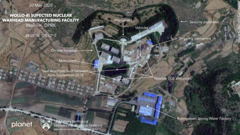 Νέο πυρηνικό εργοστάσιο με έντονη δραστηριότητα αποκαλύπτουν δορυφορικές εικόνες από τη Β. Κορέα