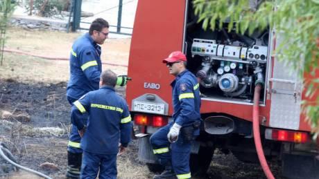 Φωτιά στην Κορινθία - Εκκενώθηκε προληπτικά κατασκήνωση
