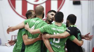 Ολυμπιακός-Παναθηναϊκός 0-3: Προβάδισμα στους τελικούς της Volley League