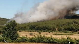 Σάπες: Χωρίς ενεργό μέτωπο η φωτιά, μετά από ολονύχτια μάχη με τις φλόγες