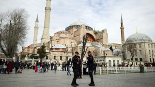 Εκπρόσωπος Ερντογάν: Η Αγία Σοφία θα ανήκει πάντα στην Παγκόσμια Κληρονομιά