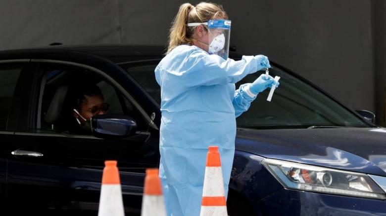 ΗΠΑ: Άλλοι 774 θάνατοι εξαιτίας της COVID-19 σε 24 ώρες