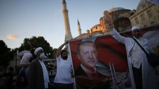 Ο Ερντογάν «αψηφά την Ευρώπη»: Ο διεθνής Τύπος για την Αγία Σοφία