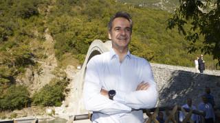 Μητσοτάκης: Θαύμα πολιτιστικής κληρονομιάς το γεφύρι της Πλάκας