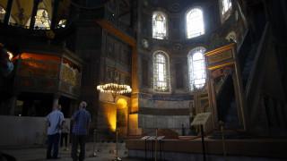 Το Παγκόσμιο Συμβούλιο Εκκλησιών έστειλε επιστολή στον Ερντογάν για την Αγία Σοφία