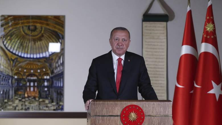 Ερντογάν: Εσωτερικό ζήτημα της Τουρκίας η Αγία Σοφία, ο λαός αποφασίζει