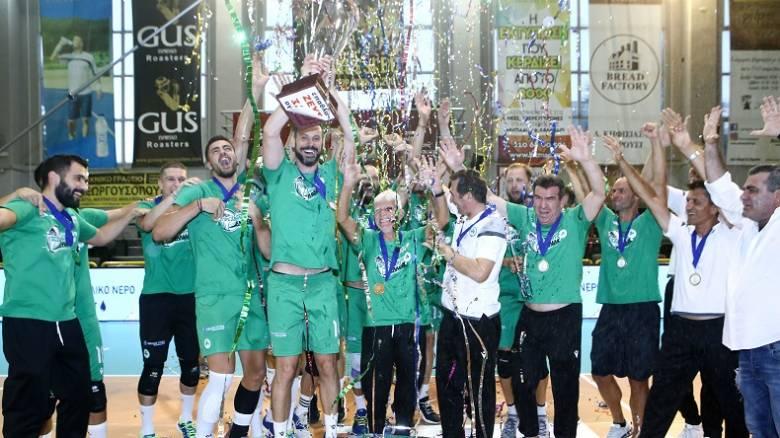 Παναθηναϊκός - Ολυμπιακός 3-1: «Πράσινη» η κορυφή της Volley League