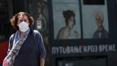 Κορωνοϊός – Σερβία: Ανησυχεί ο αριθμός ρεκόρ ασθενών στις ΜΕΘ