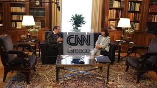 Με φόντο τις τουρκικές προκλήσεις η συνάντηση Σακελλαροπούλου - Αναστασιάδη