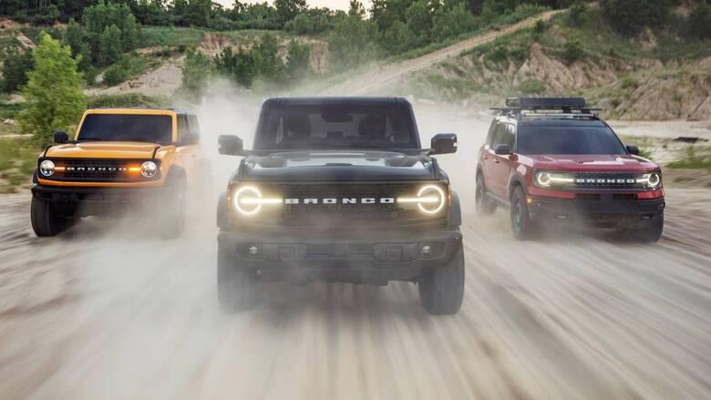 Αυτοκίνητο: Το νέο Ford Broncο έχει στυλ και μεγάλες δυνατότητες πέρα από την άσφαλτο