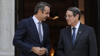 Αναστασιάδης: Άριστη συνεργασία Ελλαδας και Κύπρου στην αντιμετώπιση των προκλήσεων