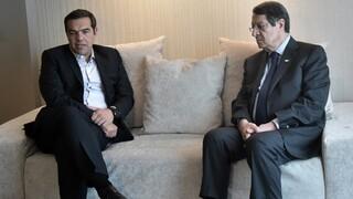 Τσίπρας με Αναστασιάδη: Ανάγκη συντονισμού Ελλάδας - Κύπρου