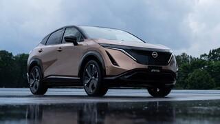 To όμορφο, ηλεκτρικό SUV Coupe Ariya ισχυροποιεί και άλλο την Nissan στην ηλεκτροκίνηση