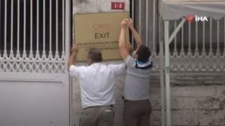 Αγία Σοφία: Θλίψη προκαλεί βίντεο με την αποκαθήλωση των πινακίδων