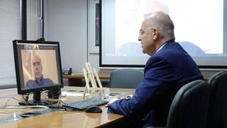 Τηλεδιάσκεψη Δένδια με τους ευρωβουλευτές της ΝΔ για την τουρκική παραβατικότητα