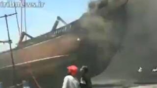 Ιράν: Στις φλόγες τυλίχτηκαν επτά πλοία στο λιμάνι Μπουσέρ