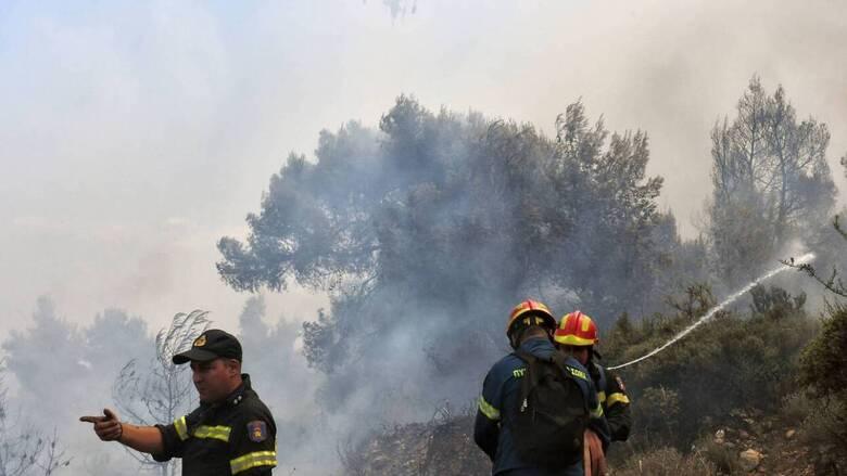 Πυρκαγιά στο Λαύριο