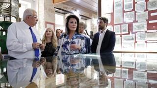 Επίσκεψη επιτροπής «Ελλάδα 2021» και Γιάννας Αγγελοπούλου-Δασκαλάκη στην Κρήτη