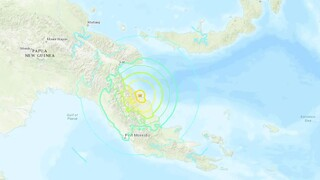 Ισχυρός σεισμός στην Παπούα Νέα Γουινέα